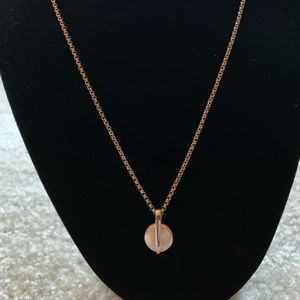 Jewelry - Sleek and Modern Pearl and Sterling Necklace